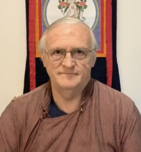 Prayers, Dharma Talk, and Meditation with Frank Howard